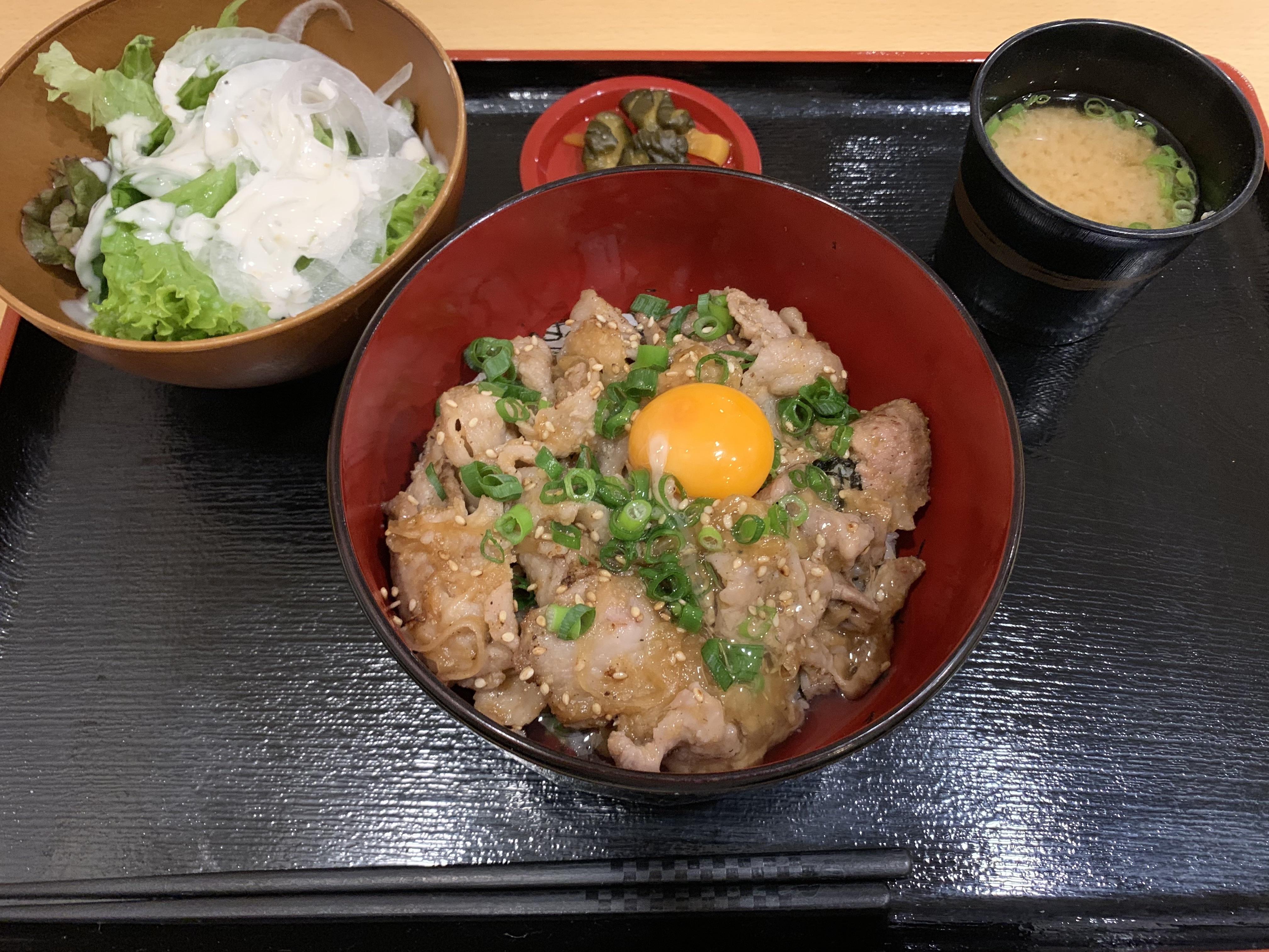 スタミナ丼:税込800円