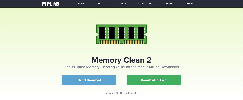 Memory Clean 2(メモリ解放/管理)