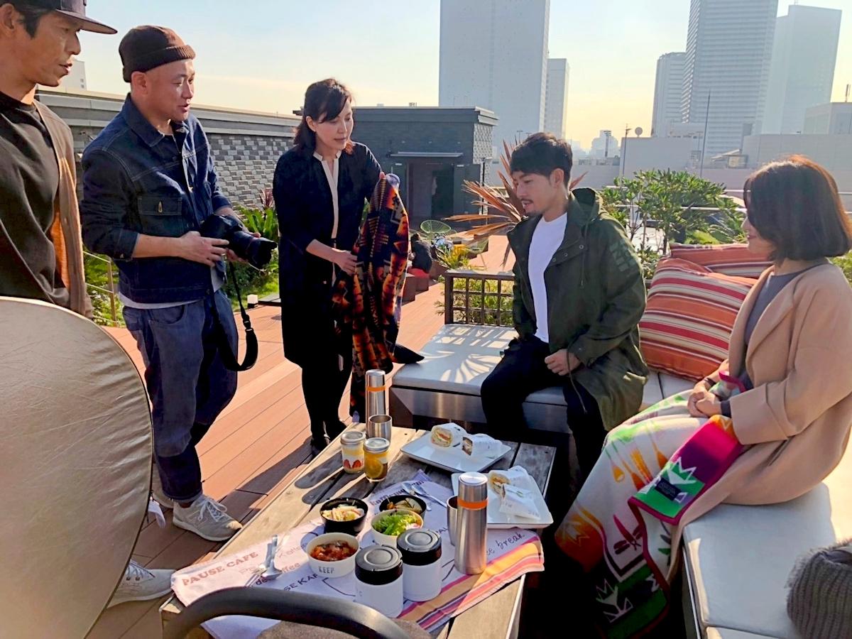 バチェラー小柳津林太郎さんの横浜デート記事、メイキング風景