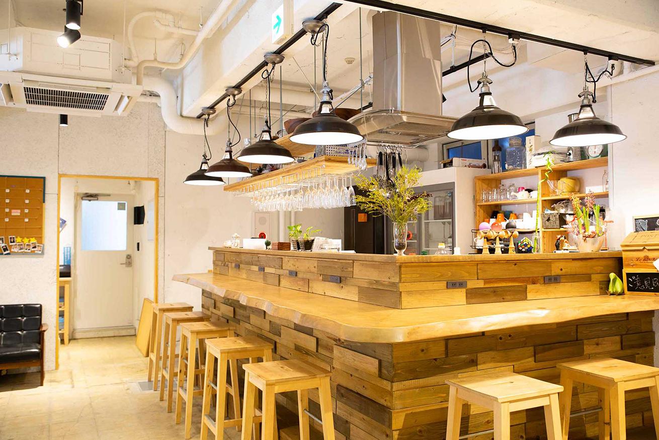 コワーキングスペースいいオフィス上野キッチン