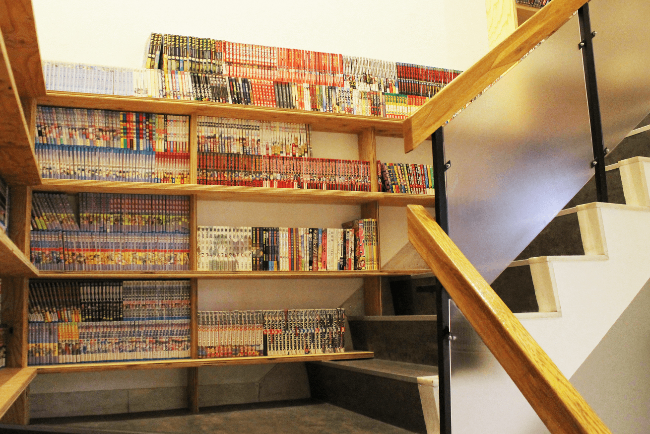 いいオフィス上野の漫画スペース2