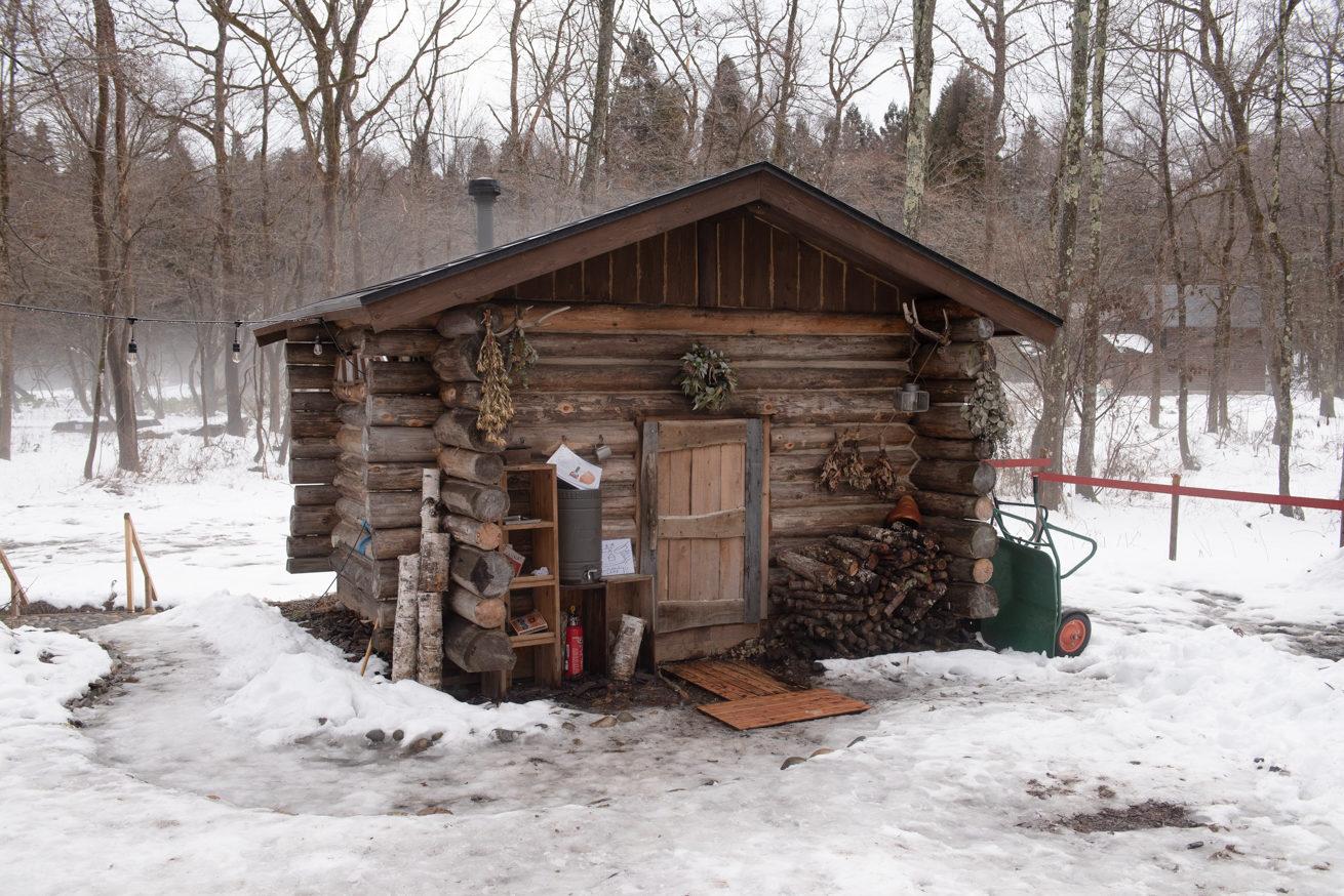 The Saunaの小屋