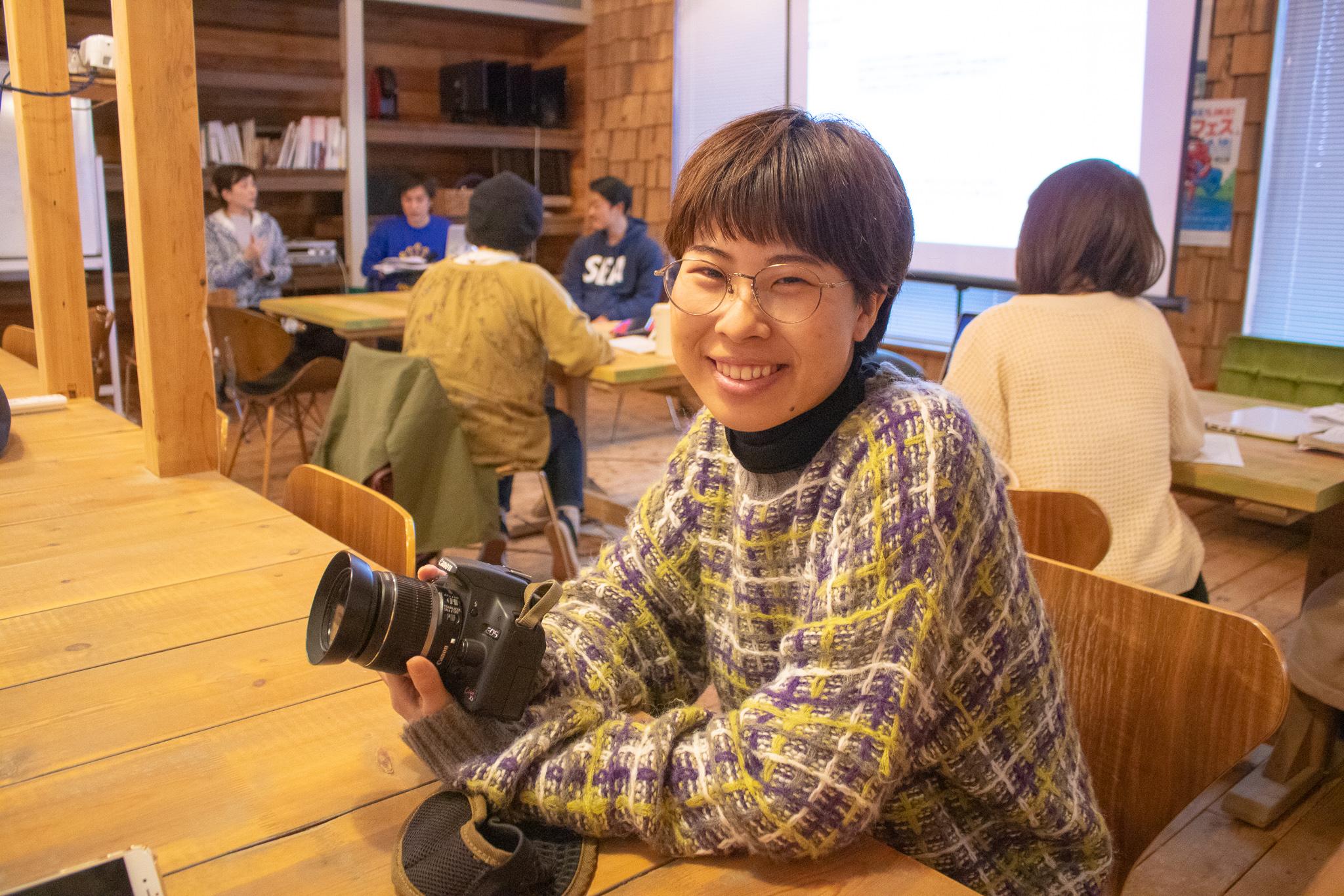 LIGのWebディレクター、ナンシー