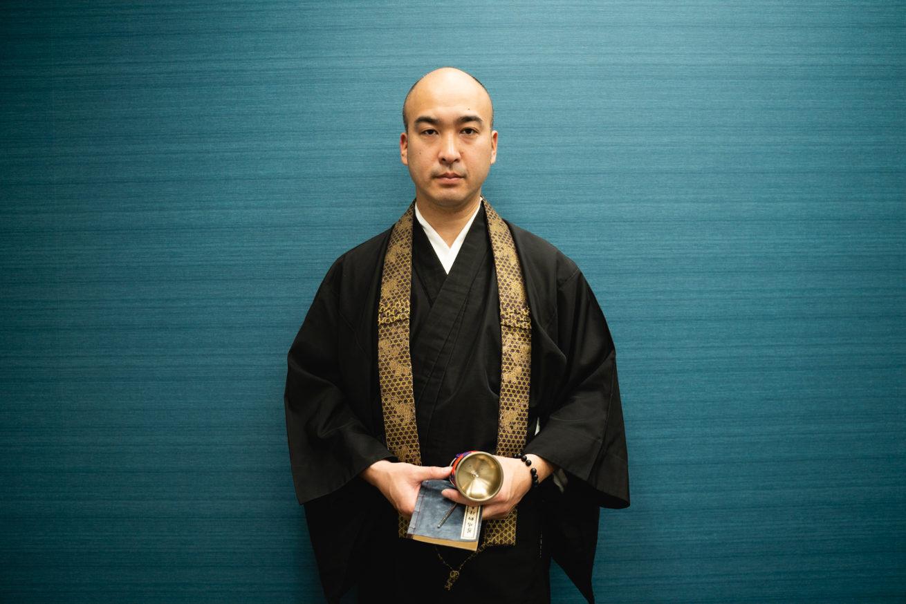 僧侶の藤岡さん