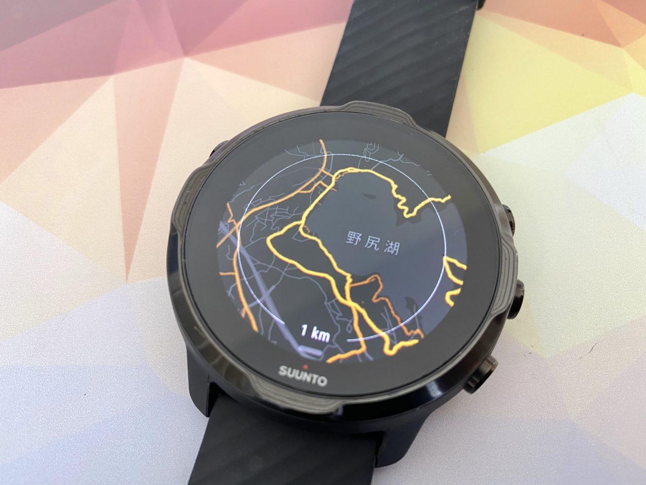 時計側のヒートマップ