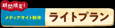 【期間限定】メディアサイト制作ライトプラン