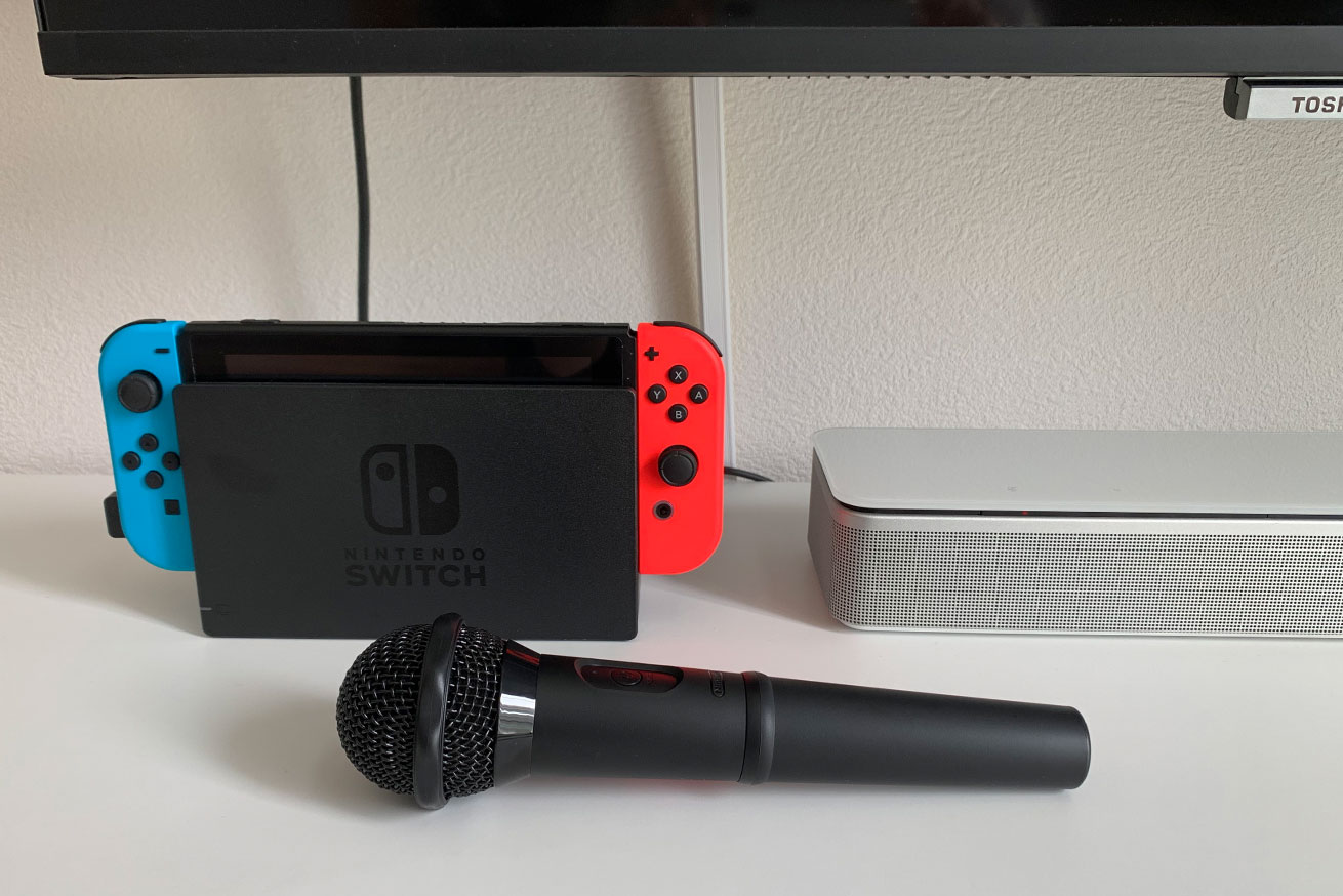 ワイヤレス マイク Switch カラオケ