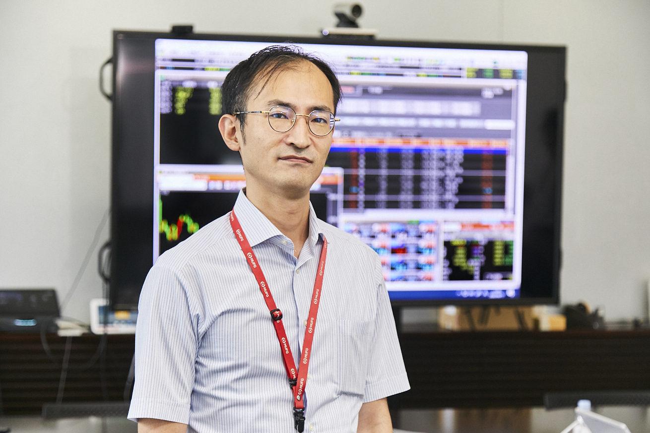 auカブ証券の小崎さんの写真