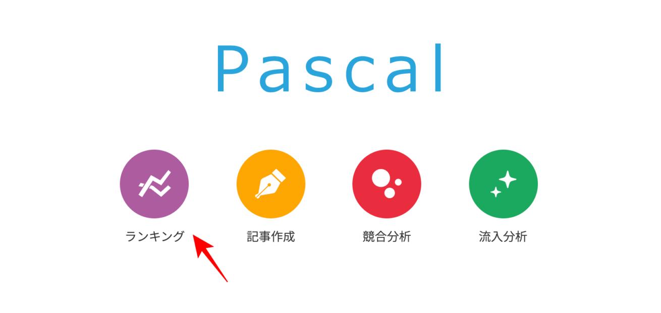 パスカル 作業画面