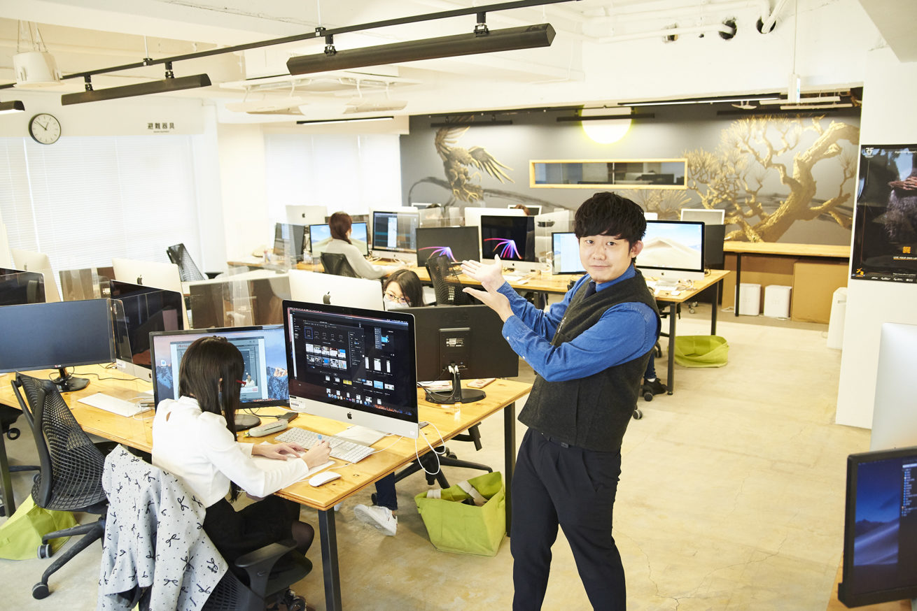 デジタルハリウッドSTUDIO上野 by LIGの教室にいるペイ