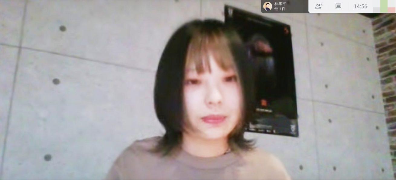 スクリーンショットで撮影したSTUDIO姫路 尾木さん