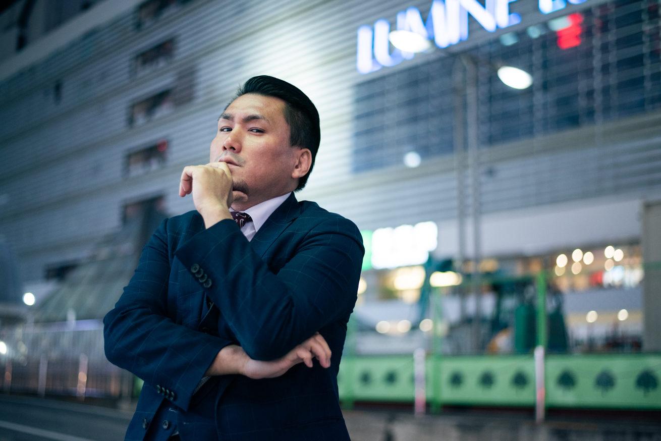 新宿前のジョニー