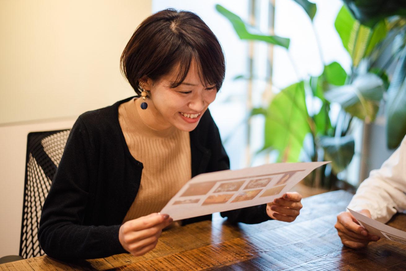 かなり笑顔のLINE WORKS 篠田さん