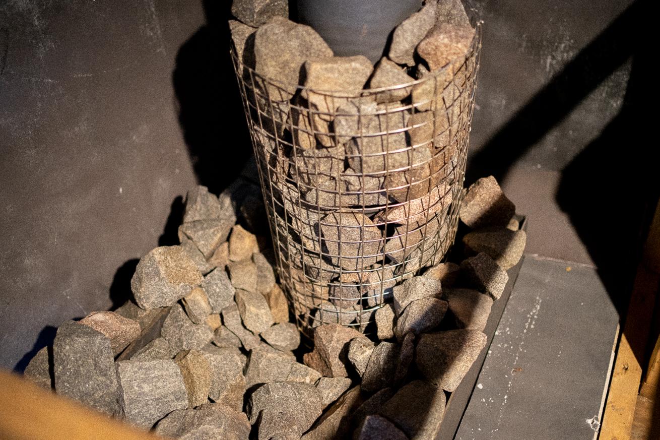 The Saunaカクシのサウナストーン