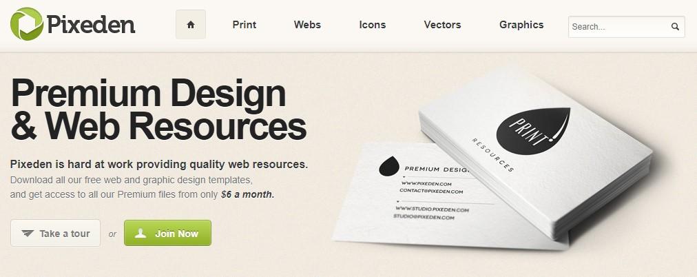 Premium & Free Design and Web Resources | Pixeden