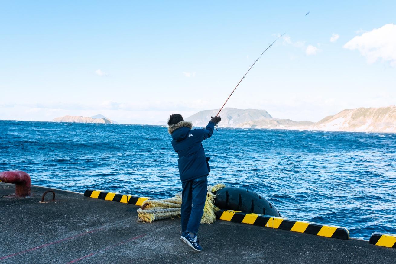 釣りの様子①