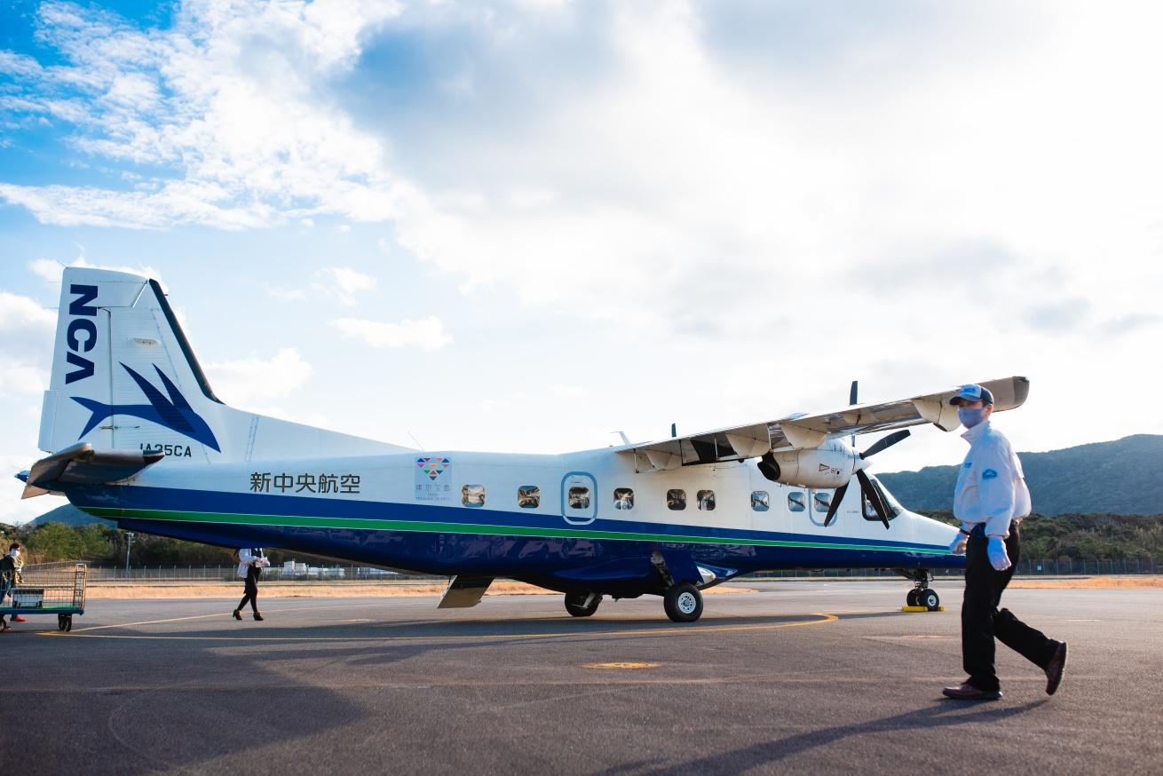 セスナ機の写真