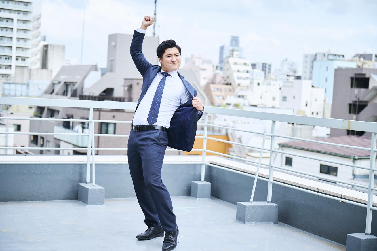 屋上で踊るイチロー①