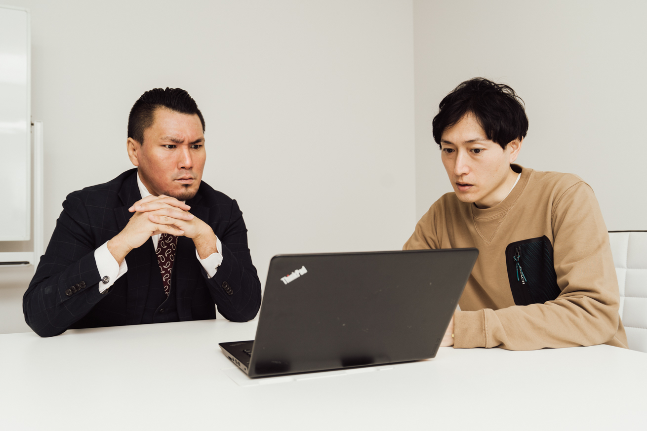 ジョニーと小野崎さん