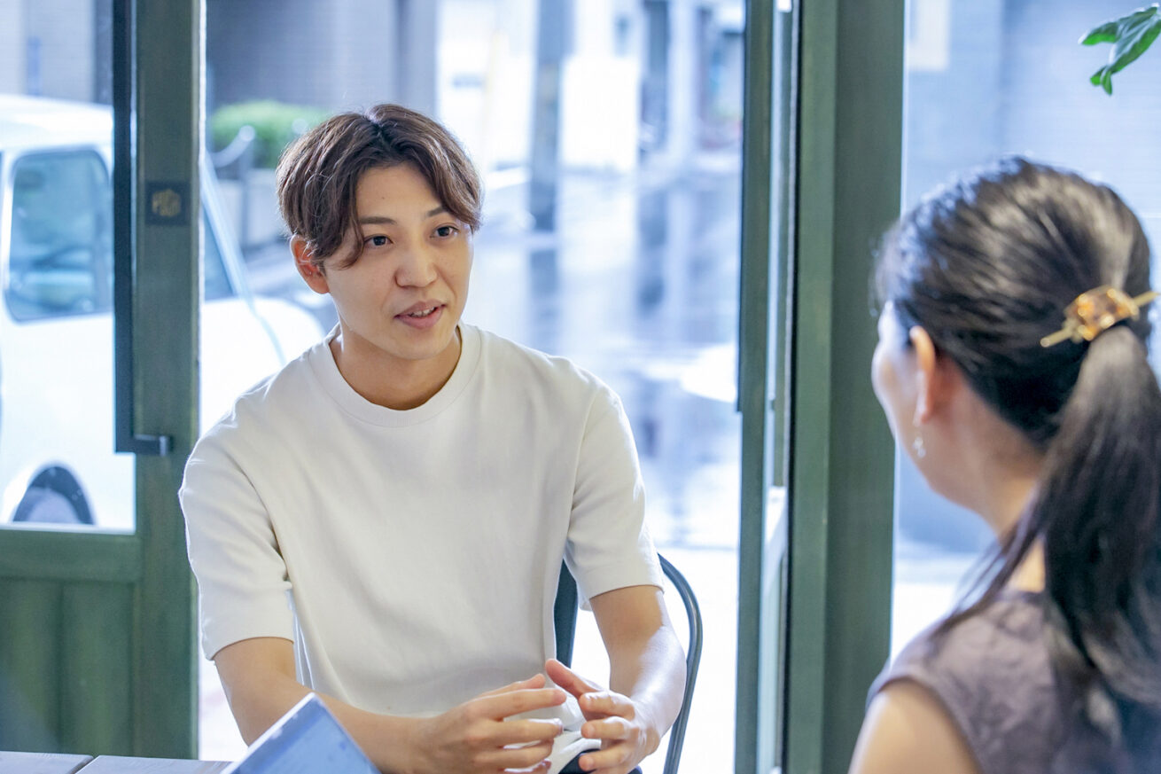 GMOメイクショップの武田聖也さん
