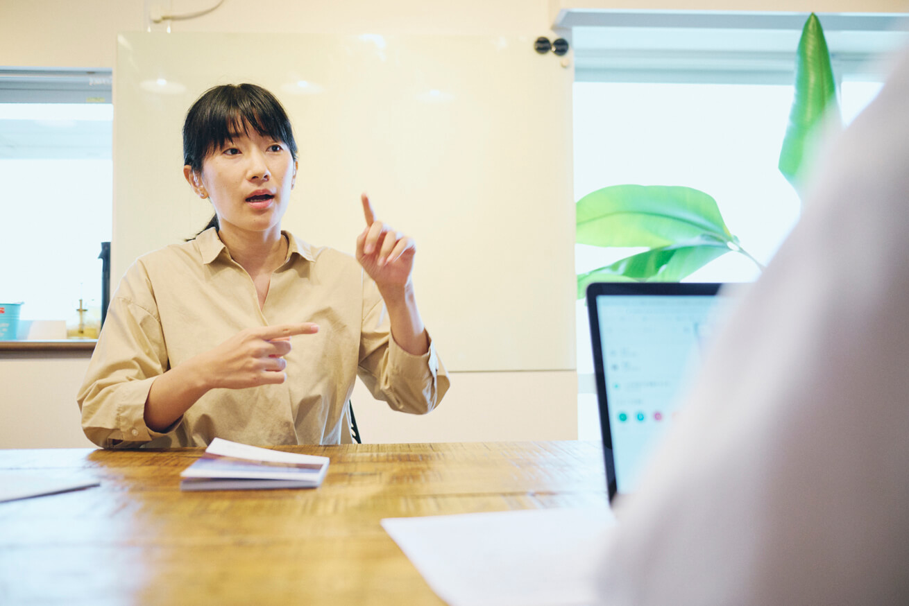 アルプスPPSの対応について話す田原さん